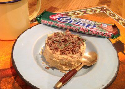 Peppermint crisp tart
